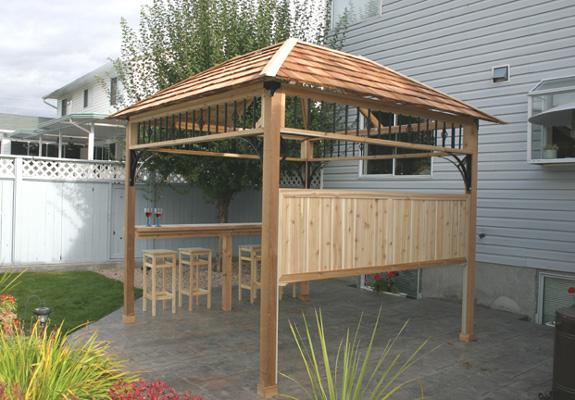 Outdoor Hot Tub Shelter : Outdoor living x naramata spa shelter
